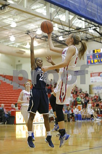 during the game between Cathedral vs Plainfield at  Plainfield  High School in Plainfield,IN. (Jeff Brown/Flyer Photo)