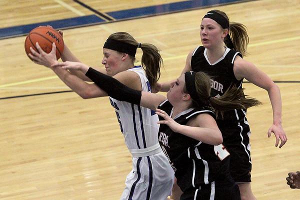 Girls Basketball: Kalkaska vs. Harbor Springs - Feb. 6, 2015