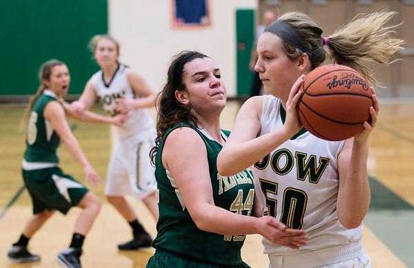 Girls Basketball: TC West vs. Midland Dow - Dec. 30, 2014