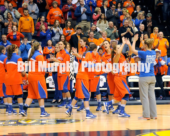 1st Region Girls 2013 Basketball Tournament Finals, Marshall County vs. Murray, March 5, 2013. Marshall County Won 41-39 For Their 21st Regional Title.