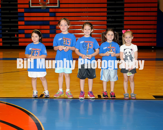 2013 Lady Marshals Basketball Camp Awards Day, May 24, 2013.