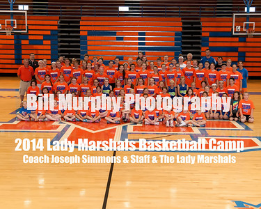 2014 Lady Marshals Basketball Camp Awards Day, June 7, 2014.
