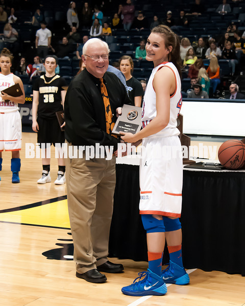 2014 Region 1 Girls Basketball Tournament Awards Ceremony And Celebration, March 10, 2014.