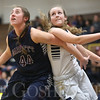 JAY YOUNG | THE GOSHEN NEWS<br /> Garrett senior Brielle Dazey (44) and Fairfield junior Jenean Schwartz fight for rebounding position during their game Tuesday night at Fairfield.