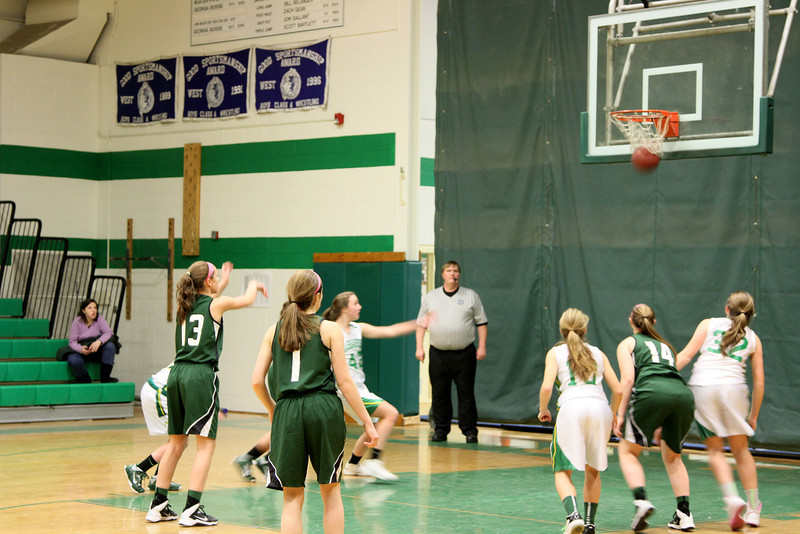Kaitlynne Basketball vs Scarborough w Mars  & Some JV 207