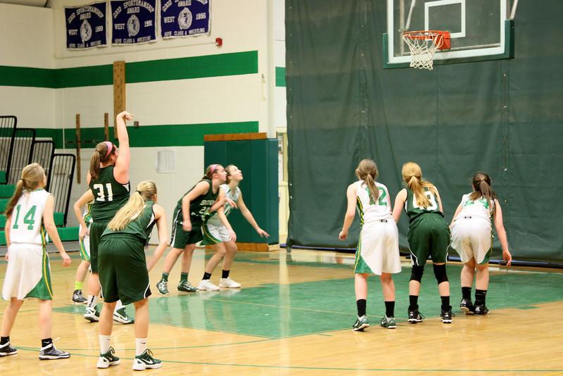 Kaitlynne Basketball vs Scarborough w Mars  & Some JV 201