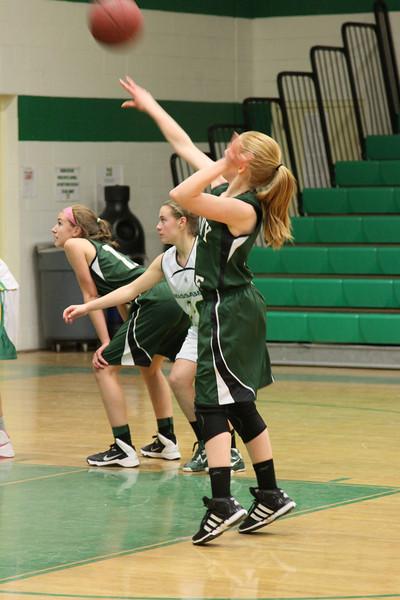 Kaitlynne Basketball vs Scarborough w Mars  & Some JV 246