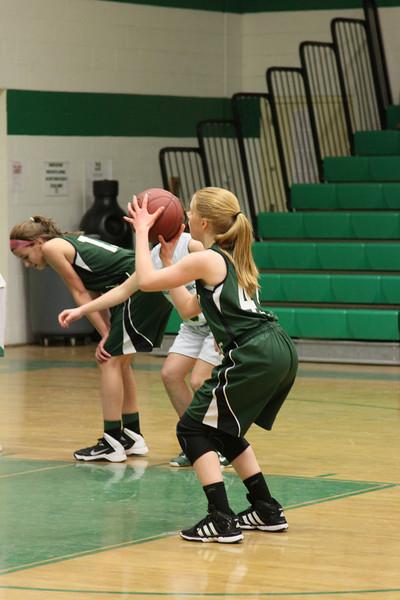 Kaitlynne Basketball vs Scarborough w Mars  & Some JV 245