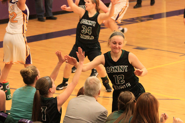 Bonny Eagle Girls Basketball Playoffs Last Game 2014 Gallery I of II