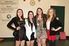 SENIORS: Cassidy, Danielle, Becca and Kaitlynne.