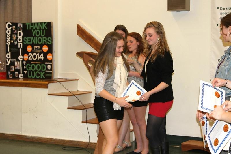 Kaitlynne Basketball Banquet 2014 Senior Year 545