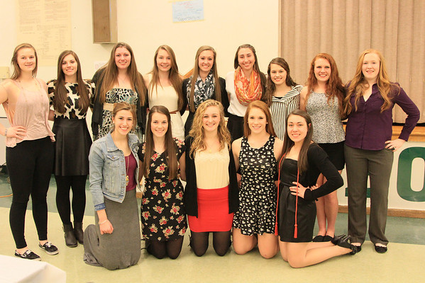 Bonny Eagle Girls Basketball Banquet 2014 Gallery I