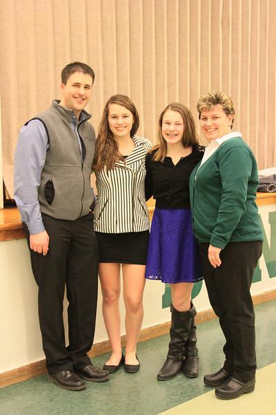 Kaitlynne Basketball Banquet 2014 Senior Year 042