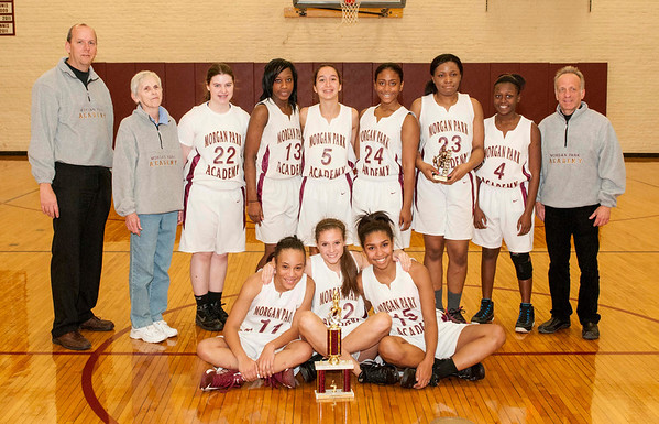 Girls' Basketball Thanksgiving Tournament 2013