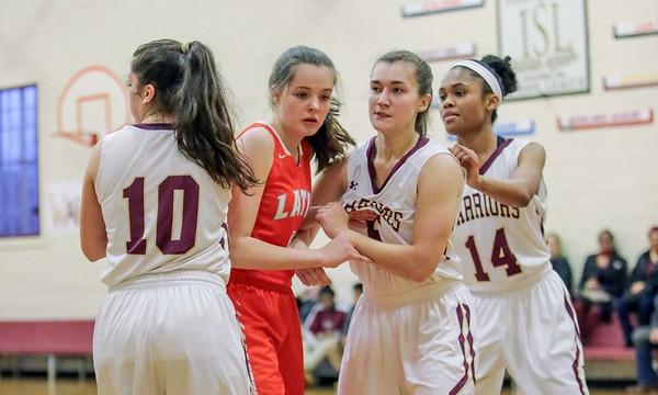 Girls Basketball vs. Latin