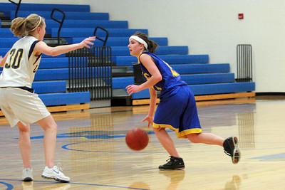Kimball girls' basketball v HLWW, 2/13/10