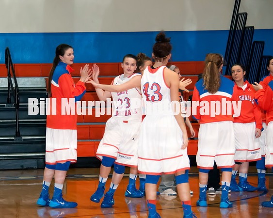 Marshall County Girls Varsity Basketball vs. Webster County, February 17, 2014. Lady Marshals Won 72-49.