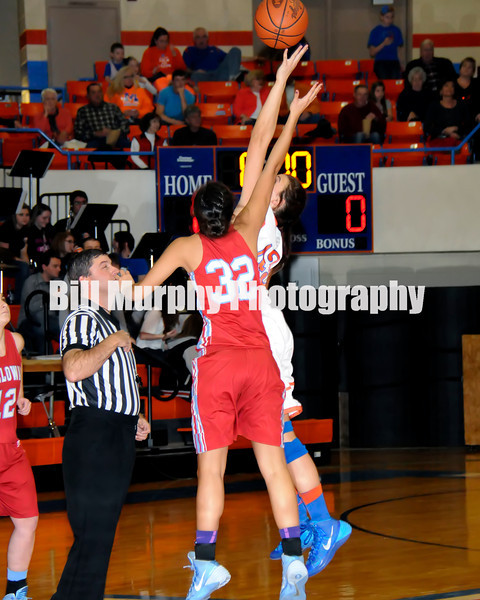Marshall County Girls Varsity Basketball vs. Calloway County, February 14, 2014. Lady Marshals Won 69-49.