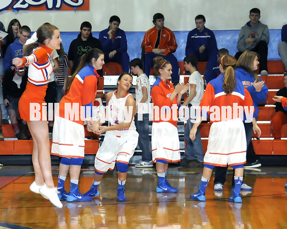 Marshall County Girls Varsity Basketball vs. Graves County, January 17, 2014.  Lady Marshals Won 41 - 37.
