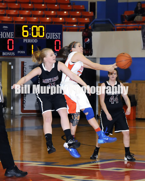 Marshall County Girls Freshman Basketball vs. McCracken County, December 12, 2013. Lady Marshals Won 44-5.