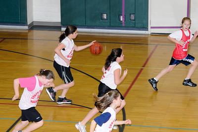 South Windsor Junior Girls Basketball, 2008-12-20, Falcons vs Gators