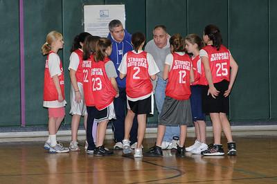 South Windsor Junior Girls Basketball, 2009-02-14, Falcons vs Huskies