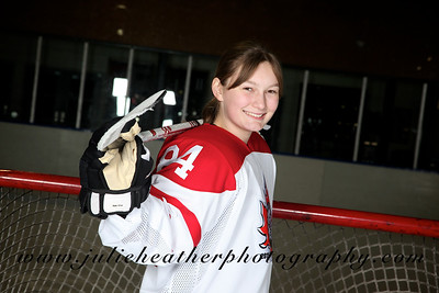 Girls Hockey Team Photos