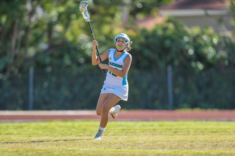 Ransom Everglades Girls Lacrosse vs. Cypress Bay High School, 2018
