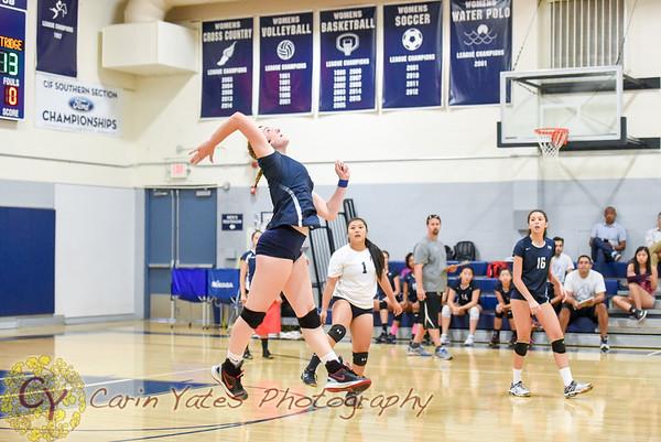 9-7-16 Prep Girls Varsity Volleyball