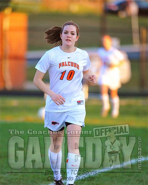 Briar Woods Girls soccer vs Potomac Falls, Photos by Jan Johnson