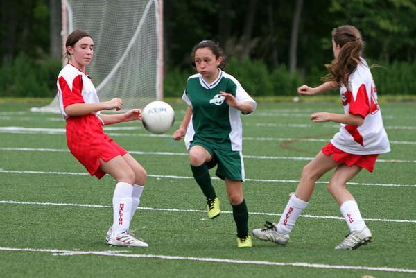 Girls Soccer - 2011 Westwood, MA