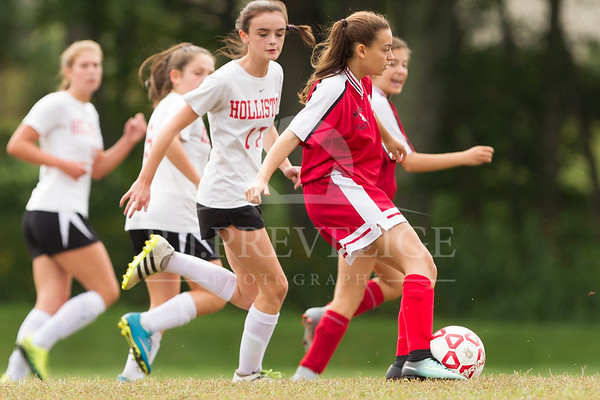 Milford vs Holliston 9/23/17