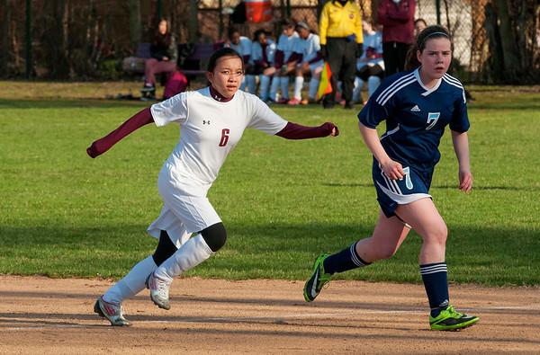 Girls' Soccer vs. Willows Academy