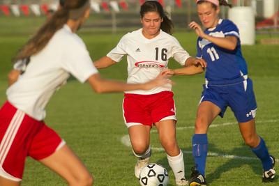 Goshen vs. Mishawaka Marian Girls Soccer