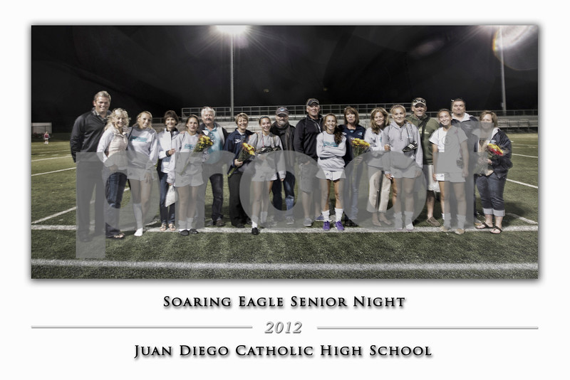 JDGS Senior Night 2012