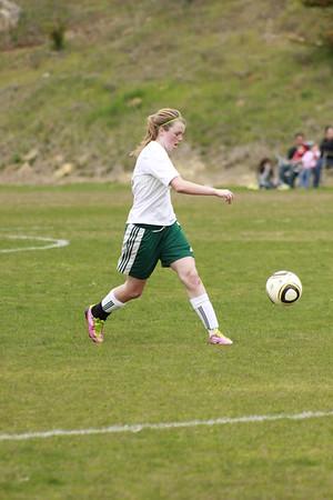 JV Girls Soccer 2012