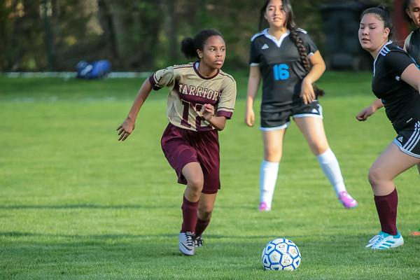 Middle School Girls Soccer vs. Intrinsic