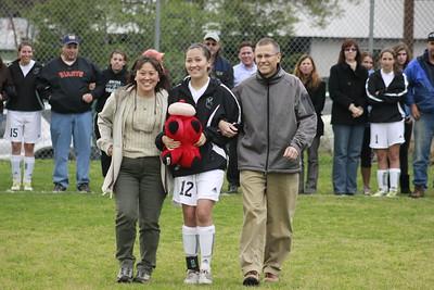 Soccer Senior Night 2012
