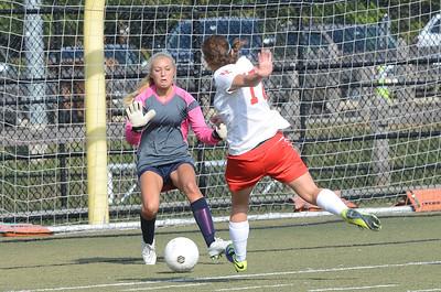 Upper Dublin plays Springfield in Girls Soccer.