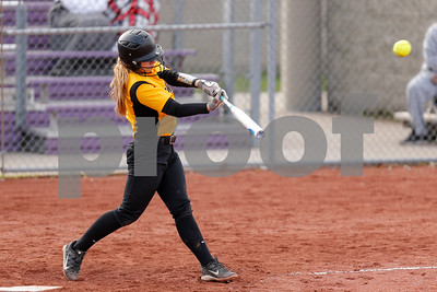 Avon High School sophomore Jordan Reeves (23) connects for a double during the game between Avon vs Ben Davis  at  Ben Davis High School in Indianapolis,IN. (Jeff Brown/Flyer Photo)