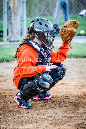 Catonsville Girls Softball - 23 Apr 2014
