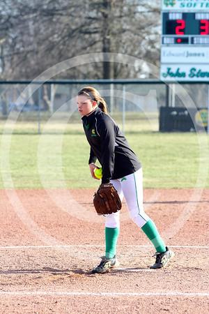 Softball game April 3, 2013