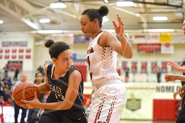 Lakota West Girls Basketball vs. East 1.21.17
