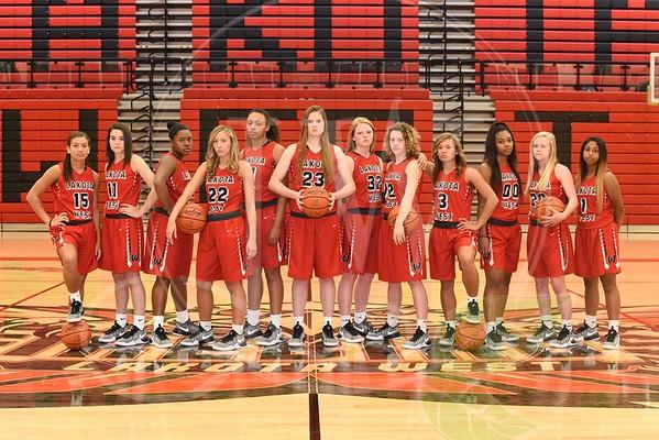 Lakota West Girls Basketball Team/Seniors 2016-17