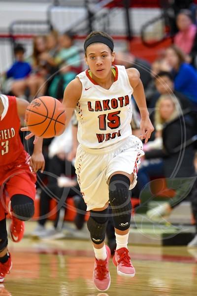 Lakota West Girls Bball vs. Fairfield (1.7.17)