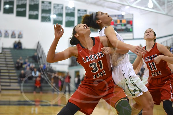 Lakota West HS Girls Basketball vs. Mason (1.28.17)