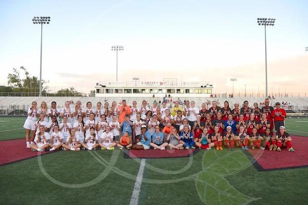 Lakota West Girls Soccer Alumni Game/Butler Co. Special Olympics 8.15.15