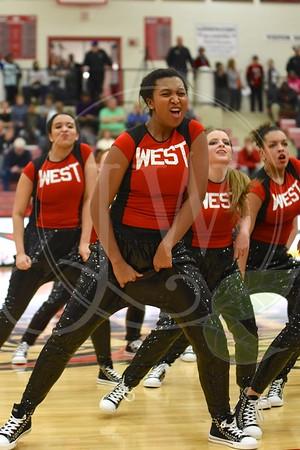 Lakota West Dance Team - Middletown Game 2.3.15