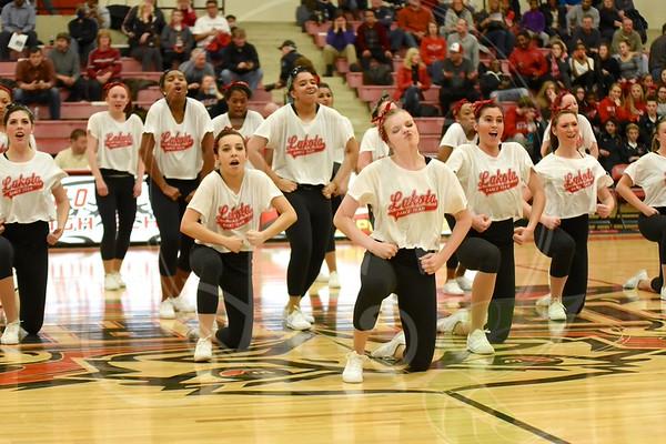 Lakota West Dance Team (Oak Hills Game 1.9.15)