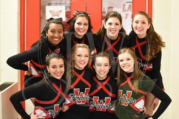 Lakota West Dance Team - Senior Night - Princeton Game 2.20.15
